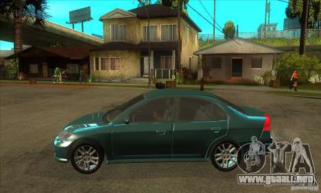 Honda Civic 2005 para GTA San Andreas left