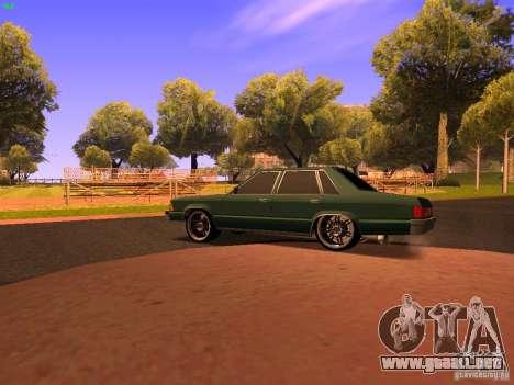 Chevrolet Malibu 1980 para GTA San Andreas vista posterior izquierda