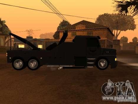 Scania 112H Gruas Fenix para GTA San Andreas left