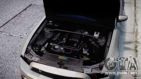 Ford Shelby GT500 2010 [Final] para GTA 4 vista superior