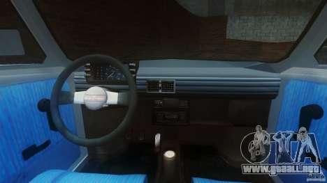 Fiat 126p FL Polski 1994 Wheels 1 para GTA 4 visión correcta
