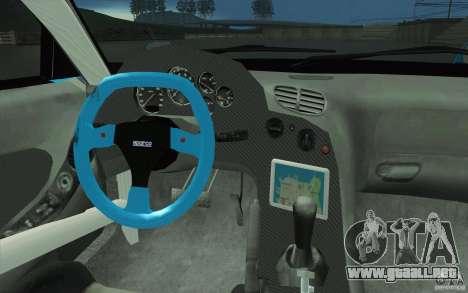Mazda RX-7 911 Trust para la vista superior GTA San Andreas