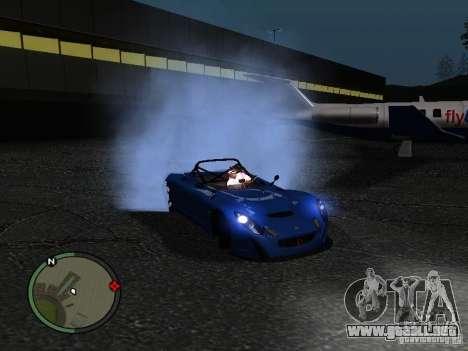 Lotus 2-Eleven 2009 para GTA San Andreas left
