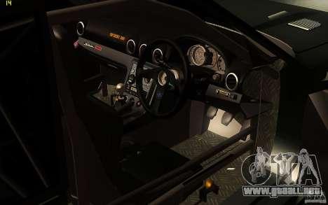Toyota Soarer GZ20 para la vista superior GTA San Andreas