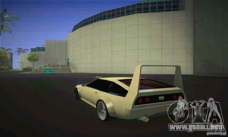 Delorean DMC-12 para GTA San Andreas left