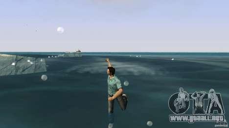 Natación para GTA Vice City segunda pantalla