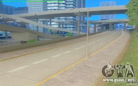 Caminos concretos de Los Santos Beta para GTA San Andreas tercera pantalla