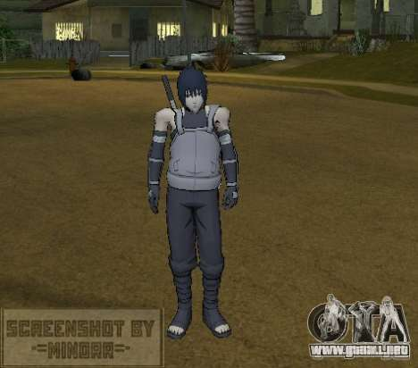 Piel Sasuke Anbu para GTA San Andreas