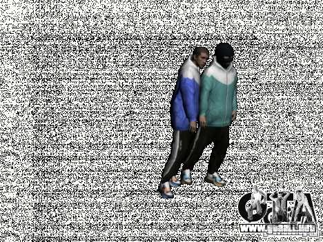 Russian Thug para GTA San Andreas quinta pantalla
