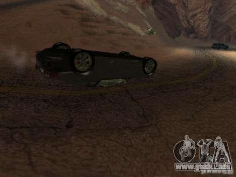 No te quemes coches volcados para GTA San Andreas tercera pantalla