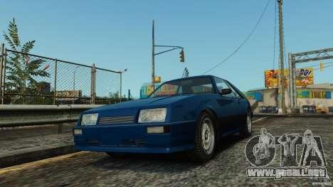 Uranus Hatchback para GTA 4 left