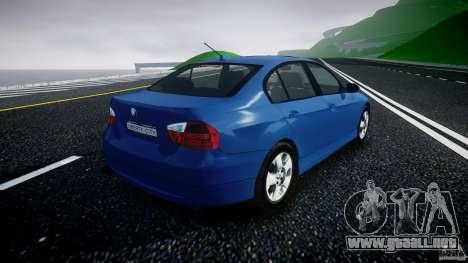 BMW 3-Series Unmarked [ELS] para GTA 4 vista interior