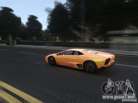 Lamborghini Reventon 2008 para GTA 4 vista lateral