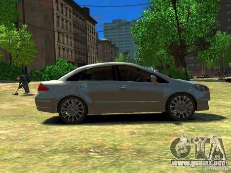 Fiat Linea para GTA 4 left