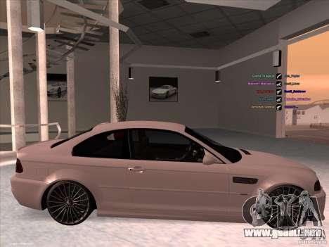 BMW M3 para GTA San Andreas left