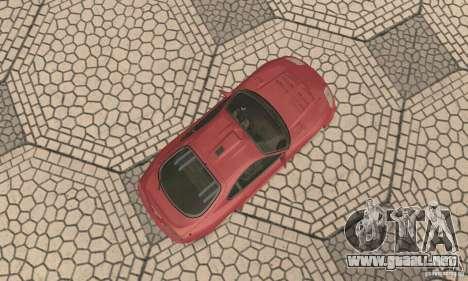 Toyota Supra Tunable 2 para GTA San Andreas vista hacia atrás