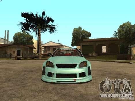 Chevrolet Cobalt SS NFS Shift Tuning para la visión correcta GTA San Andreas