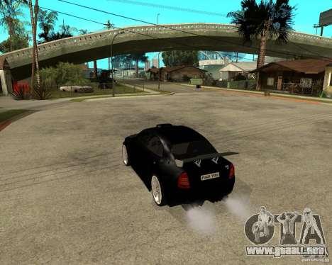 Skoda Superb HARD GT Tuning para la visión correcta GTA San Andreas