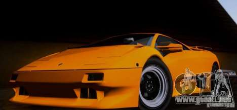 Lamborghini Diablo VTTT Black Revel para GTA San Andreas left