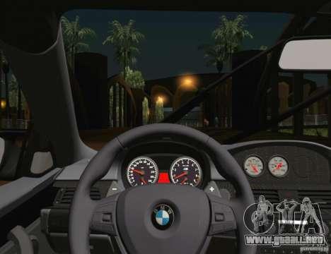 BMW M3 GT-S 2011 para la vista superior GTA San Andreas