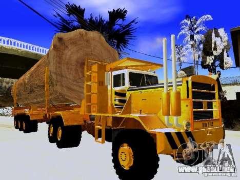 Hayes EQ 142 para la visión correcta GTA San Andreas