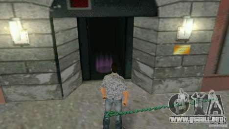 Oportunidad de entrar en el interior para GTA Vice City segunda pantalla