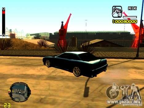 New Elegy v1 para GTA San Andreas left