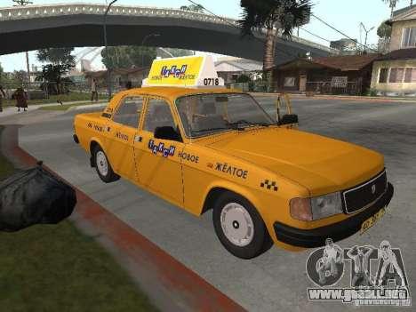 Volga GAZ 31029 Taxi para GTA San Andreas