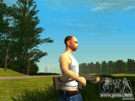 Benelli M4 Super 90 para GTA San Andreas tercera pantalla