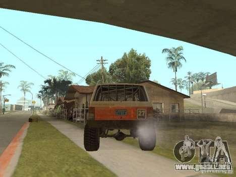 Jeep Cherokee 1984 para la visión correcta GTA San Andreas