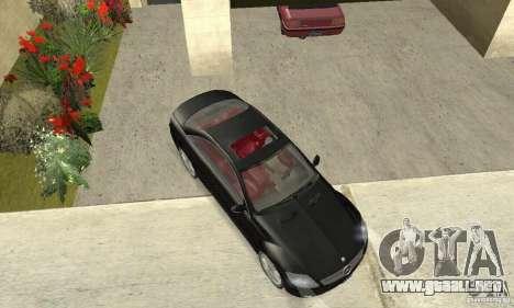 Mercedes-Benz CL500 para la visión correcta GTA San Andreas