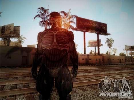 Crysis 2 Nano-Suit HD para GTA San Andreas segunda pantalla