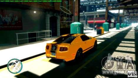 Shelby GT500 Super Snake 2011 para GTA 4 left