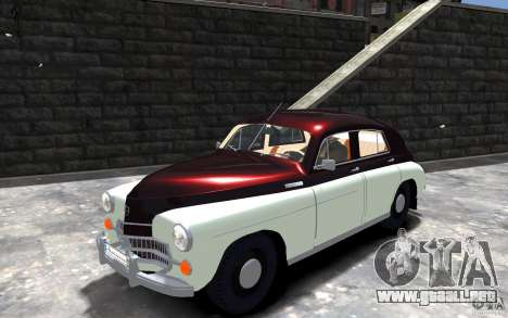 FSO Warszawa M20 201 para GTA 4