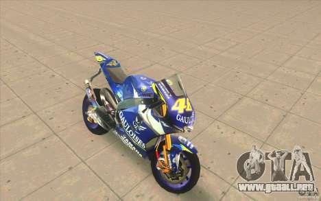 Yamaha M1 Rossi para GTA San Andreas