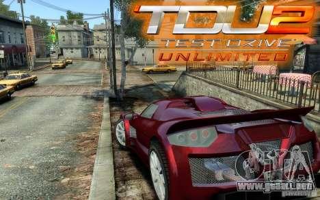 Gumpert Apollo Sport para GTA 4 left