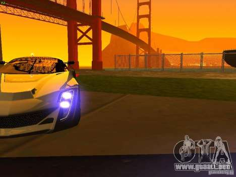 Bertone Mantide para las ruedas de GTA San Andreas