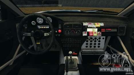 Subaru Impreza WRX STI 1995 Rally version para GTA 4 vista hacia atrás