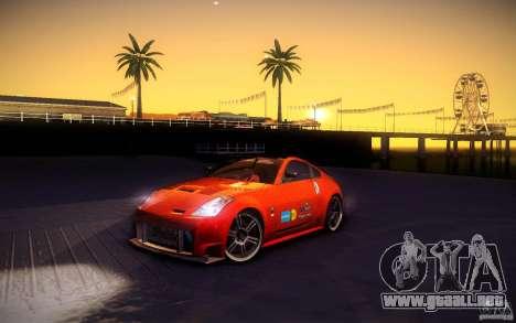 Nissan 350Z Fairlady para las ruedas de GTA San Andreas