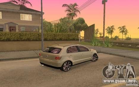 Volkswagen Gol G6 para la visión correcta GTA San Andreas