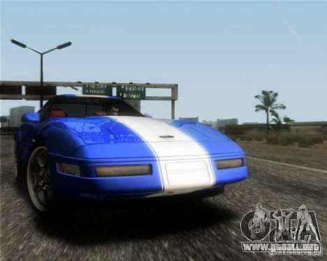Chevrolet Corvette C4 Grand Sport 1996 para GTA San Andreas