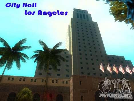 City Hall Los Angeles para GTA San Andreas