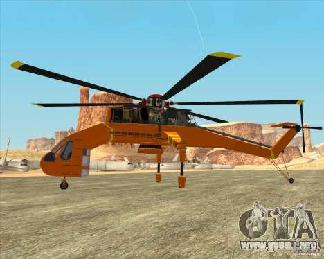 Skylift para GTA San Andreas