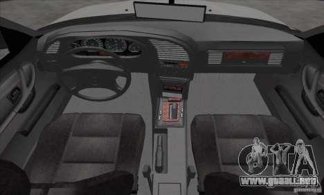 BMW 320i E36 para GTA San Andreas vista hacia atrás