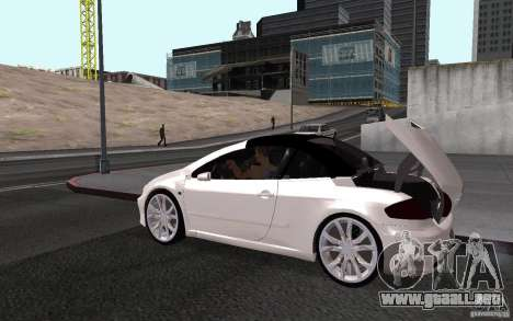 Peugeot 307CC BMS para la visión correcta GTA San Andreas