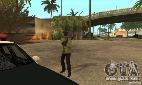 Una nueva policía para GTA San Andreas quinta pantalla