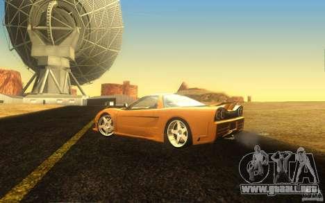 Honda NSX VeilSide Fortune para visión interna GTA San Andreas