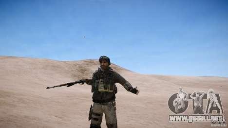 Precio del capitán de COD MW3 para GTA 4 sexto de pantalla