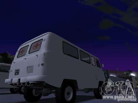 UAZ 450А para la visión correcta GTA San Andreas