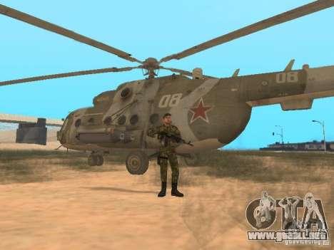 Comando soviético para GTA San Andreas quinta pantalla